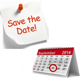 Save the date 25 september1